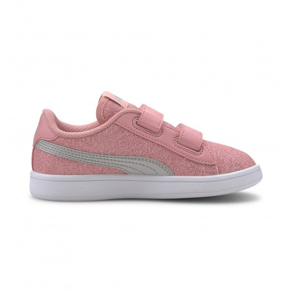 Puma Smash Glitz Glam Sneakers - pink