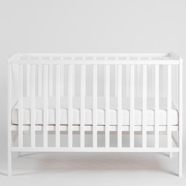 Tiny Republic Sofie tremmeseng 120x60 cm - hvid