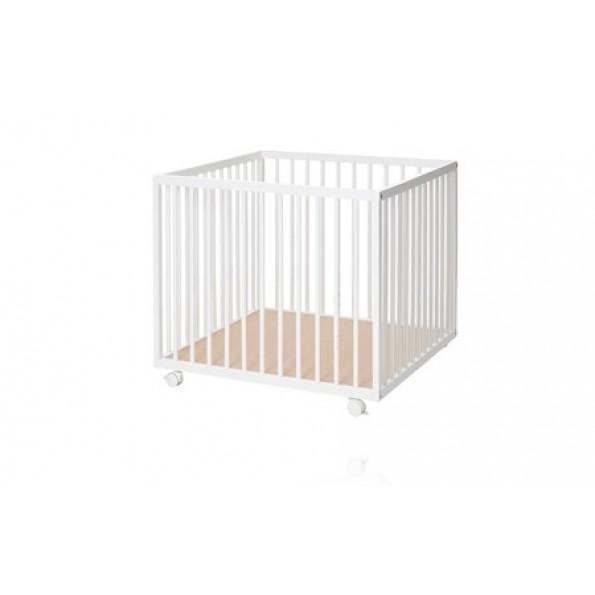 BabyDan Comfort kravlegård - hvid