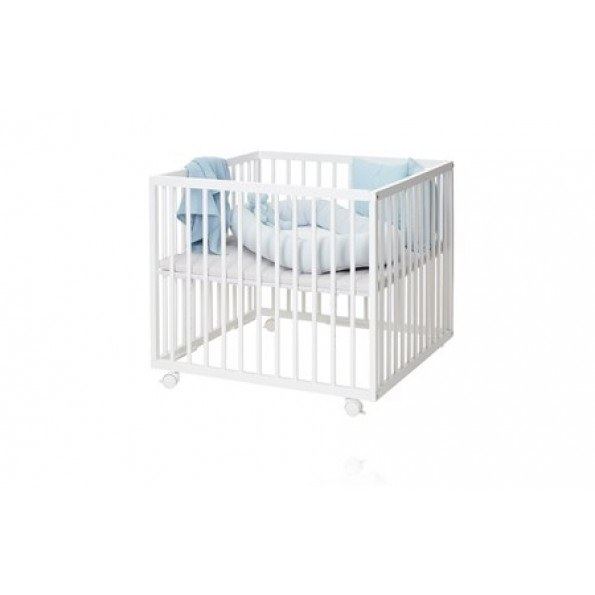 BABY DAN Comfort kravlegård - Hvid