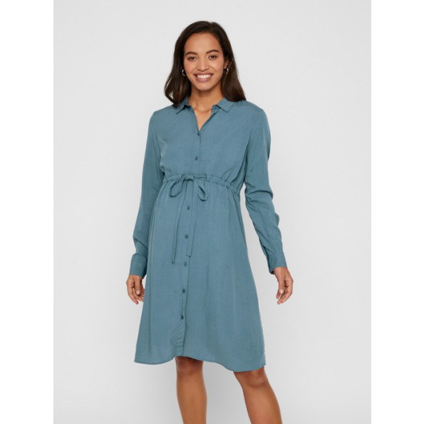 Mamalicious kjole - orion blue