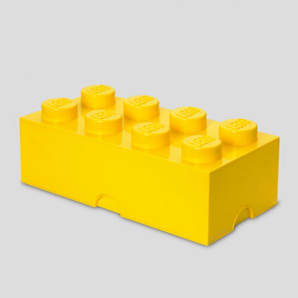LEGO Opbevaringskasse 8 - Gulx3