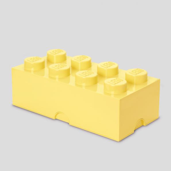 LEGO Opbevaringskasse 8 - Lys gulx3