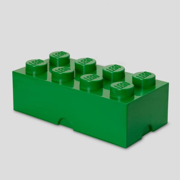 LEGO Opbevaringskasse 8 - Grønx3