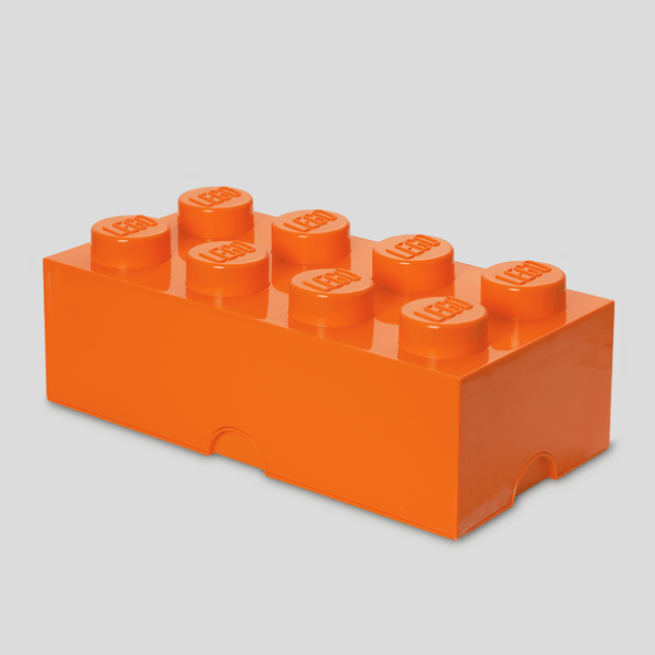 LEGO Opbevaringskasse 8 - Orange