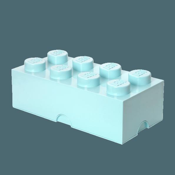 LEGO Opbevaringskasse 8 - Aqua