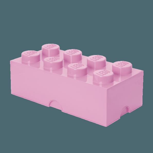 LEGO Opbevaringskasse 8 - Lyserød