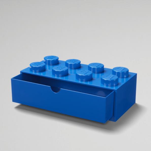 LEGO Skrivebordsopbevaring 8 – Blå