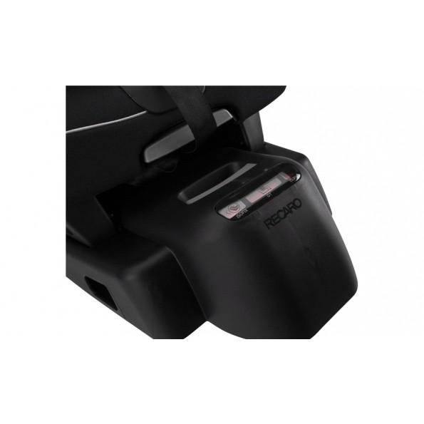Recaro Optiafix Autostol - Black (Til isofix montering)