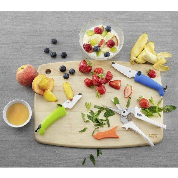 Kinderkitchen køkkenredskaber, 3 dele - grøn/blå