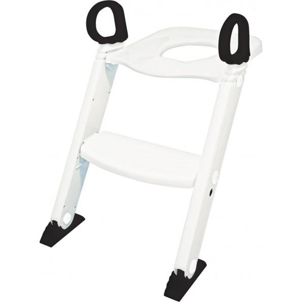 Baby Dan toiletsæde med trappe - hvid