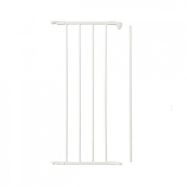 Baby Dan forlængersektion til Flex sikkerhedsgitter, 33 cm (M) - hvid