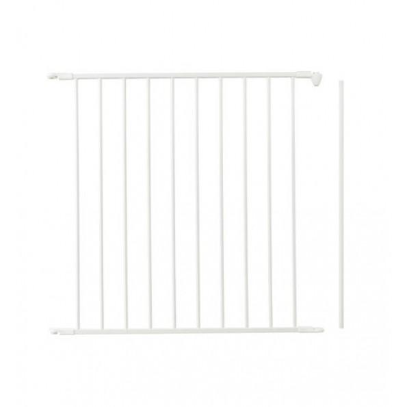 Baby Dan forlængersektion til Flex sikkerhedsgitter, 72 cm (L) - hvid