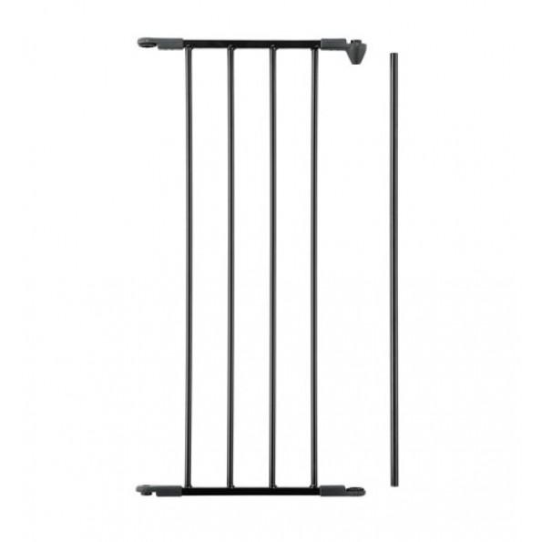 Baby Dan forlængersektion til Flex sikkerhedsgitter, 33 cm (M) - sort