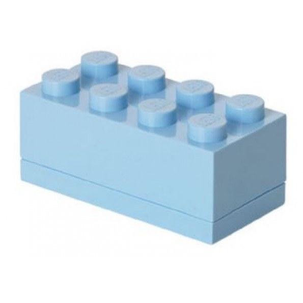 LEGO Mini Box 8 - Light Royal Blue