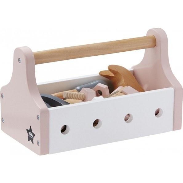 Kids Concept Værktøjskasse - Rosa