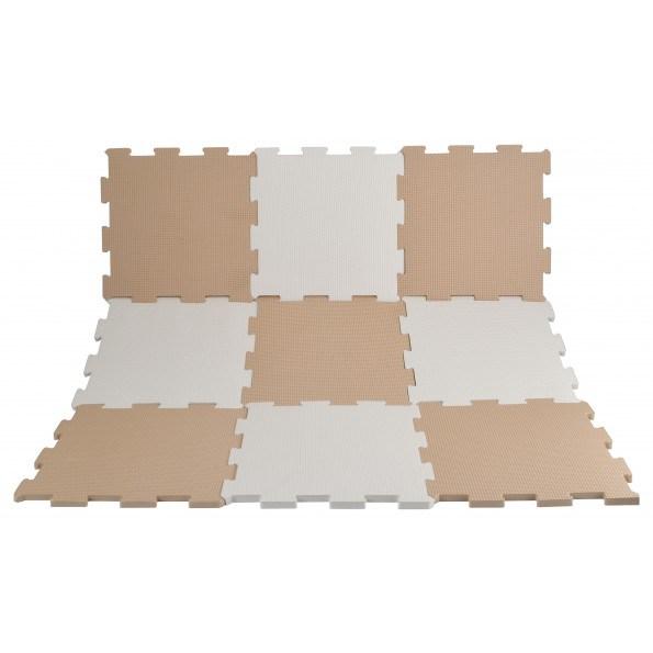 Magni Gulvpuslespil - Hvid/Sand