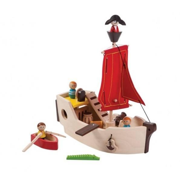 Plantoys - Sørøverskib