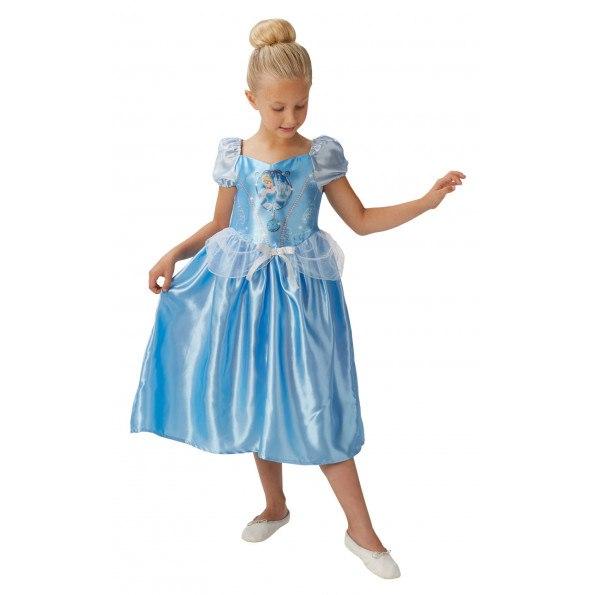 Rubies Disney Askepot kostume - lyseblå
