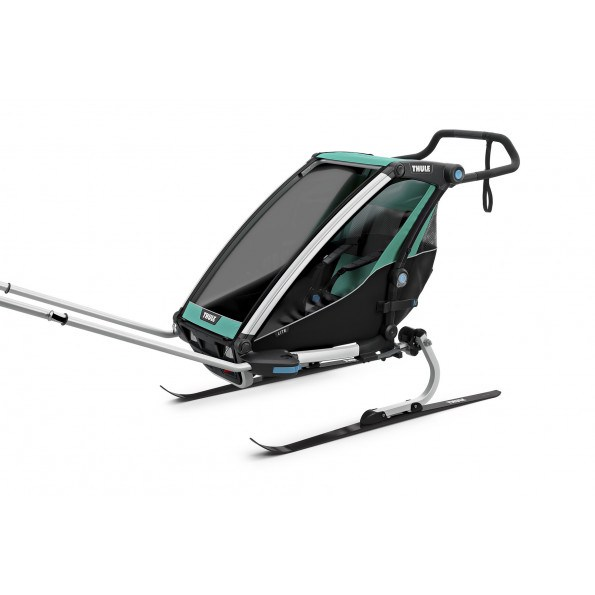 Thule Multisporttrailer Chariot Lite 1 -  Blue Grass/Black