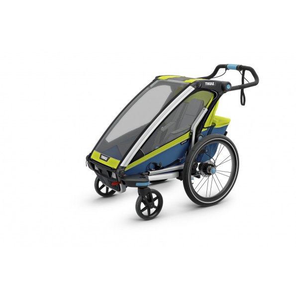 Thule Chariot Sport1, Chartreuse Cykelanhænger