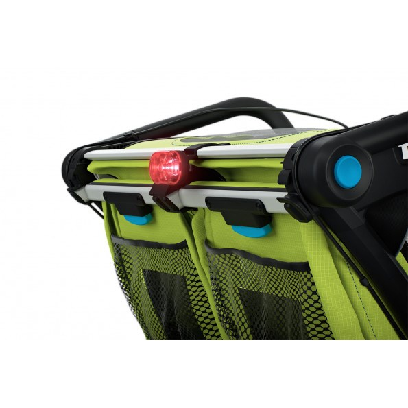 Thule Chariot Sport2, Chartreuse Cykelanhænger