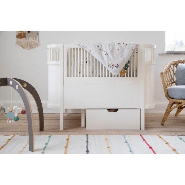 Sebra Seng - Baby/Junior - Hvid