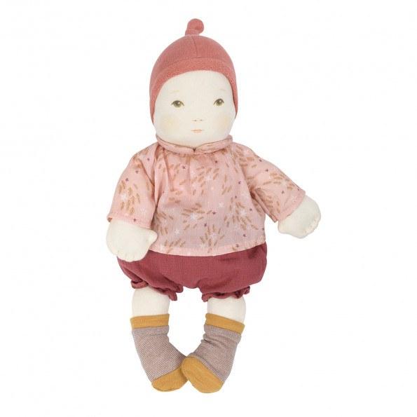 Moulin Roty stof dukke 32 cm, pige