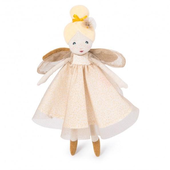 Moulin Roty fransk dukke 30 cm, lille gylden fe