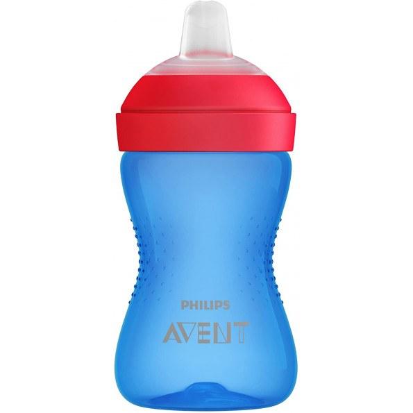 Philips Avent blød drikkekop 300 ml - Blue/red
