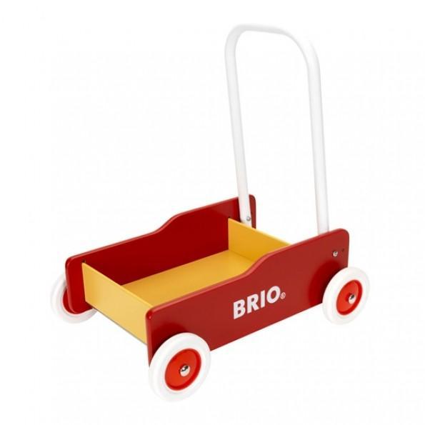 BRIO gåvogn - rød/ gul - 31350