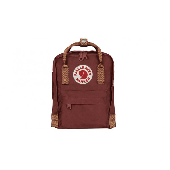 Fjällräven Mini Kånken Rygsæk - Ox Red/Goose Eye