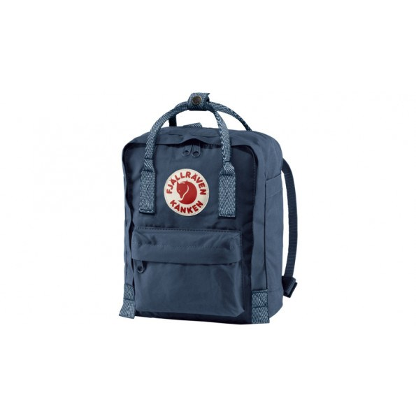Fjällräven Mini Kånken rygsæk - Royal Blue-Goose Eye