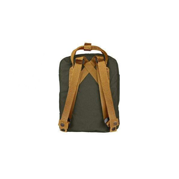 Fjällräven Mini Kånken rygsæk - Deep Forest-Acorn