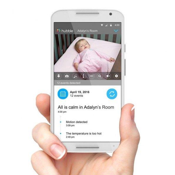 Motorola Babyalarm, Wi-Fi MBP855