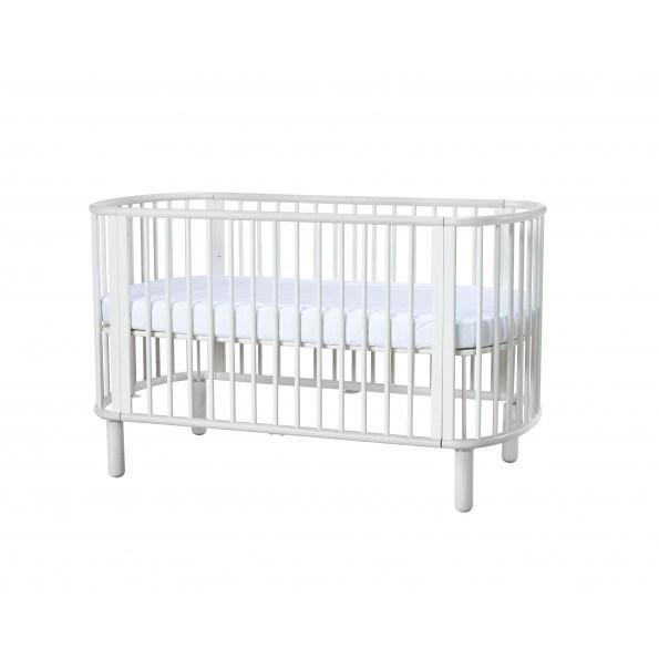 Flexa baby tremmeseng - hvid
