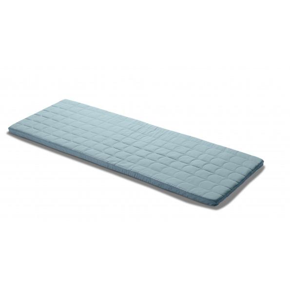 Flexa legemadras 140x60 - frosty blue