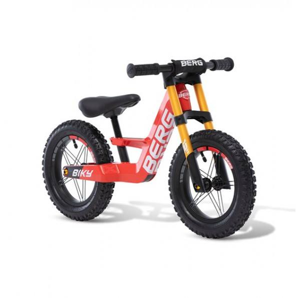 Berg biky cross løbecykel - Rød