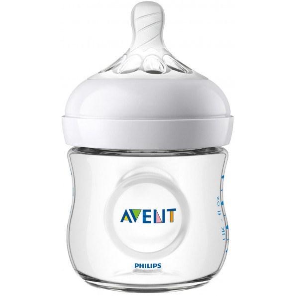 Philips Avent Natural 2.0, 125 ml Sutteflaske til Nyfødte
