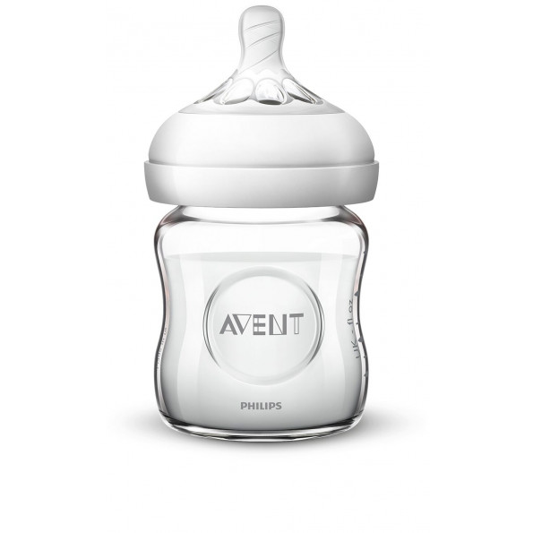 Philips Avent Natural 2.0 Glas Sutteflaske - 120 ml