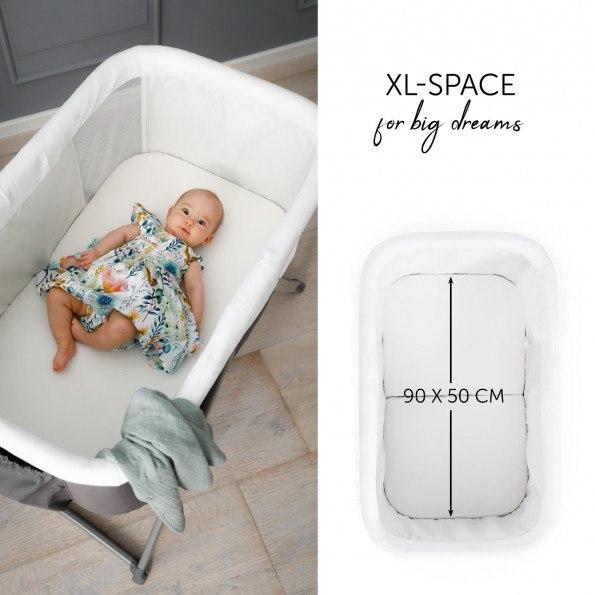Hauck Dreamer babyseng - Grå