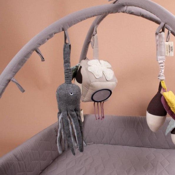 Filibabba musikuro blæksprutte - grå