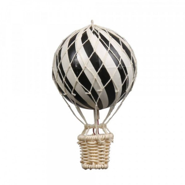 Filibabba Luftballon 10 cm - Sort