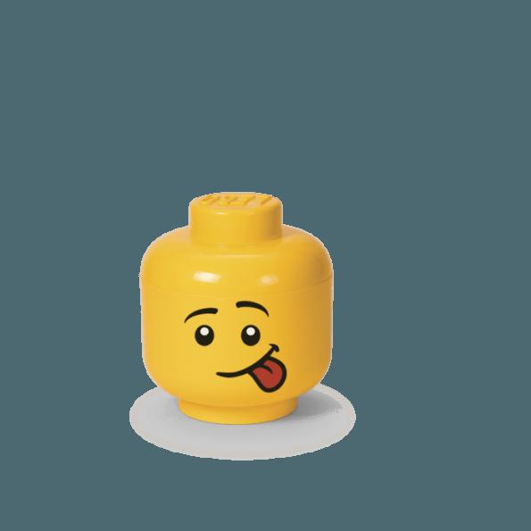 LEGO Opbevaringshoved, Silly, Str. S