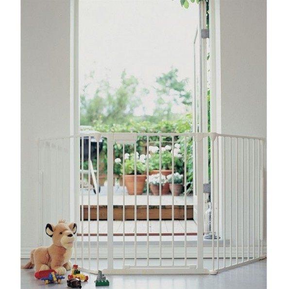 Baby Dan – FLEX L Sikkerhedsgitter, Hvid