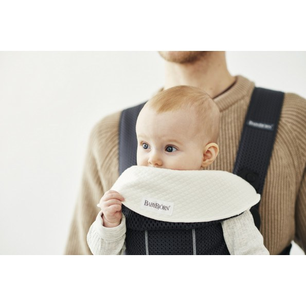 BABYBJÖRN Bæresele Mini Antracitgrå, mesh