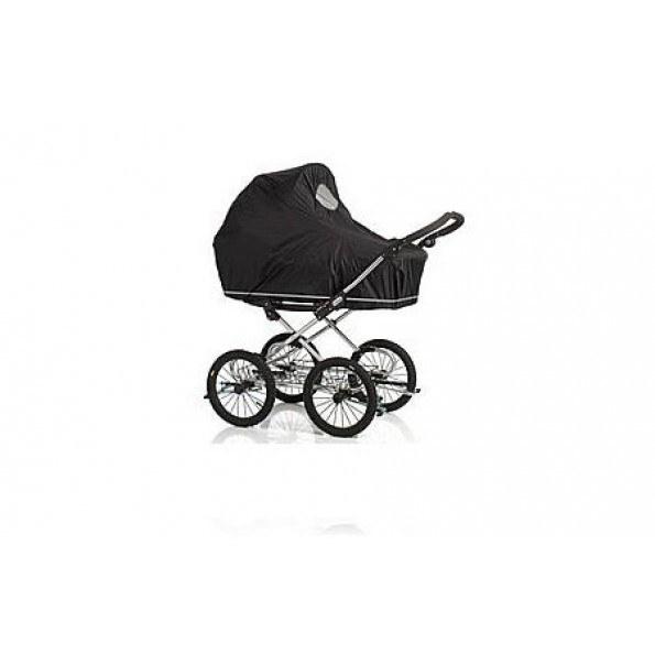 Baby Dan regnslag m. net (til kombivogn) - sort