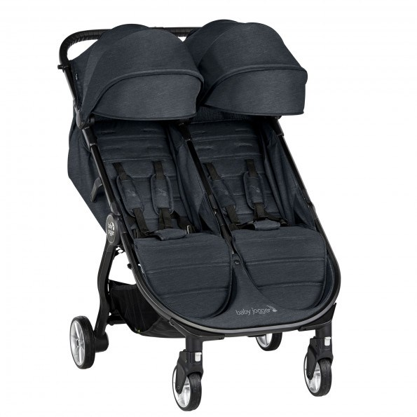 Baby Jogger City Tour 2 Double søskendevogn - Carbon