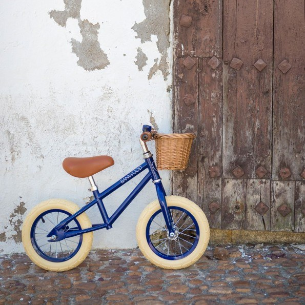 Banwood Løbecykel, First go - Navy Blue