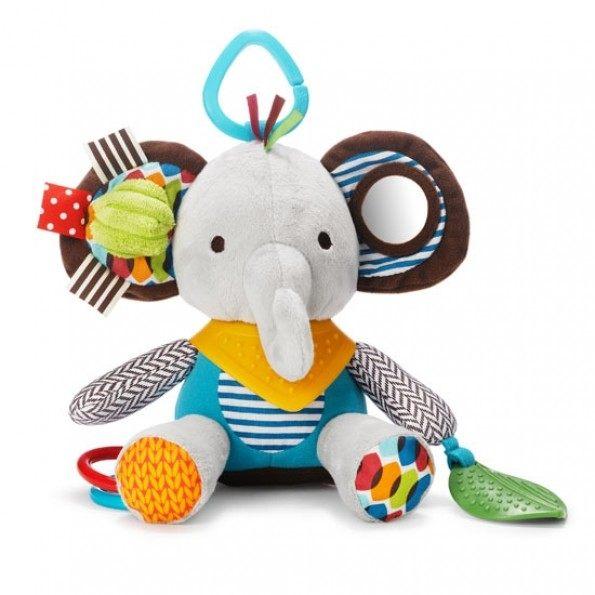 Skip Hop Bandana Buddies - Elefant Babylegetøj